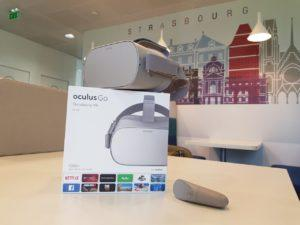 innovation virtual creation casque de realite virtuelle oculus go